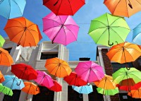 Colorful Umbrellas Wallpapers 1[1]